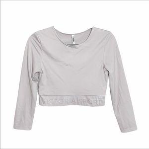 Victoria's Secret Sport Long Sleeve Crop Top M